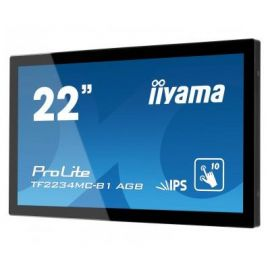 iiyama ProLite TF2234MC-B3AG, 54.6cm (21.5''), Projected Capacitive, 10 TP, Full HD-TF2234MC-B3AGB