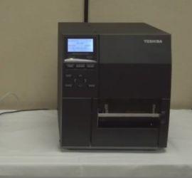 TOSHIBA B-EX4T2 Flat Head TT / DT Industrial Label Printer