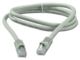 Patch cable, shielded, black-PATCHSW20S